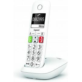 Gigaset E290 Telefone analógico DECT Branco ID do Emissor e Nome