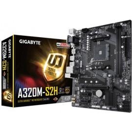 Gigabyte GA-A320M-S2H placa mãe Socket AM4 Micro ATX AMD A320