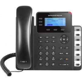 Grandstream Networks GXP1630 telefone IP Preto Estação com fios LCD 3 linhas
