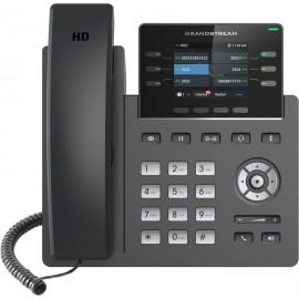 Grandstream Networks GRP2613 telefone IP Preto Estação com fios TFT 6 linhas