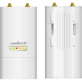 Ubiquiti Networks Rocket M2 ponto de acesso WLAN 150 Mbit s Apoio Power over Ethernet (PoE) Branco