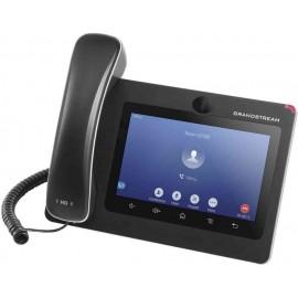 Grandstream Networks GXV3370 telefone IP Preto Estação com fios LCD 16 linhas Wi-Fi