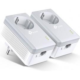 TP-LINK TL-PA4010PKIT adaptador de rede elétrica 600 Mbit s Ethernet LAN Branco 2 peça(s)