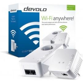 Devolo dLAN 550 WiFi Starter Kit 500 Mbit s Ethernet LAN Wi-Fi Branco 2 peça(s)