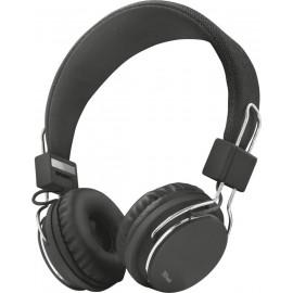 Trust Ziva Conjunto de auscultadores e microfone acoplado Fita de cabeça Preto, Cromo