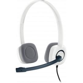 Logitech H150 Conjunto de auscultadores e microfone acoplado Fita de cabeça Branco