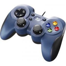 Logitech F310 Gamepad PC USB 2.0 Preto, Azul
