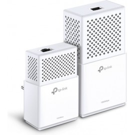 TP-LINK AV1000 Powerline Wi-Fi Kit 1000 Mbit s Ethernet LAN Branco 2 peça(s)