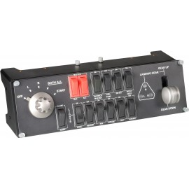 Logitech Pro Flight Switch Panel Simulador de voo