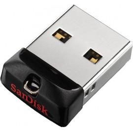 Sandisk SDCZ33-016G-G35 unidade de memória USB 16 GB 2.0 Preto, Prateado