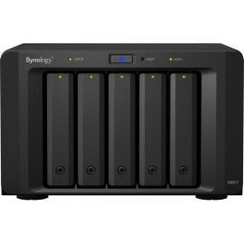Synology DX517 baía de discos PC Preto