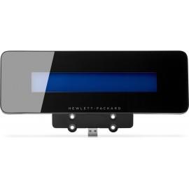 HP ElitePOS Top Mount 2x20 CFD 20 dígitos USB 2.0 Preto