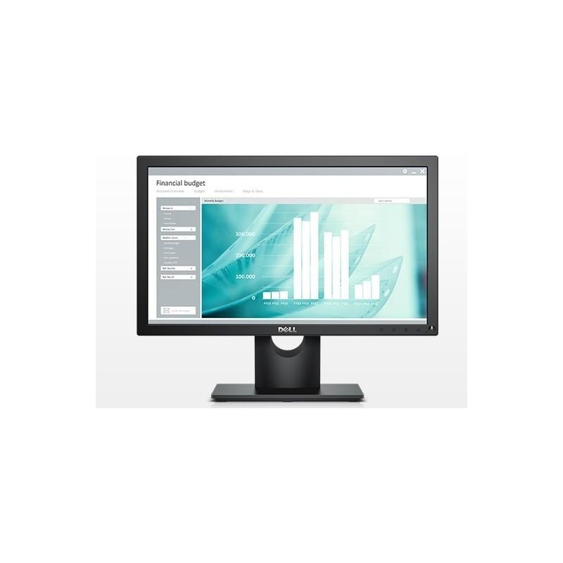 """DELL E Series E1916H LED display 47 cm (18.5"""") 1366 x 768 pixels HD Fosco Preto"""