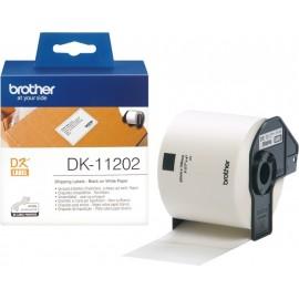 Brother DK-11202 etiquetadora Preto sobre branco
