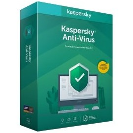 Kaspersky Lab Anti-Virus 2020 Licença base 1 ano(s)