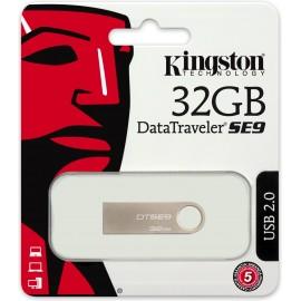 Kingston Technology DataTraveler SE9 32GB unidade de memória USB USB Type-A 2.0 Bege