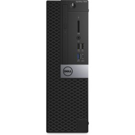 DELL OptiPlex 7050 7th gen Intel® Core™ i5 i5-7500 8 GB DDR4-SDRAM 1000 GB HDD Preto SFF PC