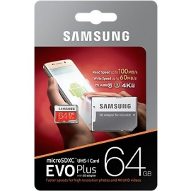 Samsung MB-MC64G cartão de memória 64 GB MicroSDXC Classe 10 UHS-I