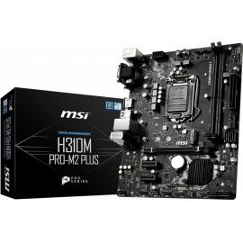 MSI H310M PRO-M2 PLUS placa mãe LGA 1151 (Socket H4) Micro ATX Intel® H310