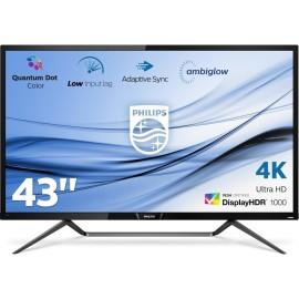 Philips M Line Ecrã 4K HDR com Ambiglow 436M6VBPAB 00