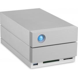LaCie 2big Dock Thunderbolt 3 baía de discos 20 TB PC Cinzento