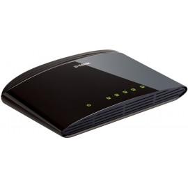 D-Link DES-1005D Não-gerido Fast Ethernet (10 100) Preto