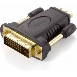Equip 118908 cabo de interface adaptador de género DVI (24+1) HDMI A Preto