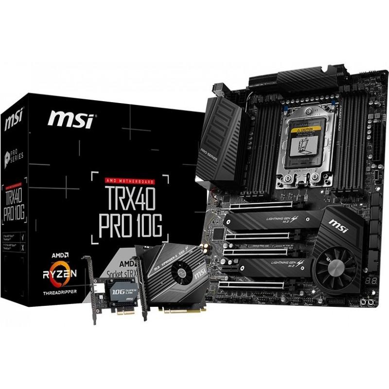 MSI TRX40 PRO 10G placa mãe sTRX4 ATX AMD TRX40