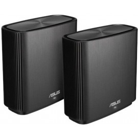 ASUS ZenWiFi AC (CT8) router sem fios Tri-band (2,4 GHz   5 GHz   5 GHz) Gigabit Ethernet Preto