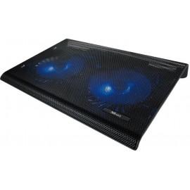"""Trust 20104 base de refrigeração para computador 43,9 cm (17.3"""") Preto"""