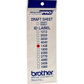 Brother ID1438 etiqueta para impressão