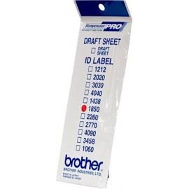 Brother ID1850 etiqueta para impressão