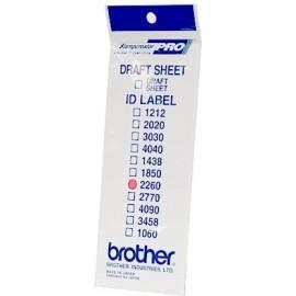Brother ID2260 etiqueta para impressão