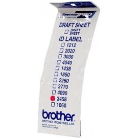 Brother ID3458 etiqueta para impressão