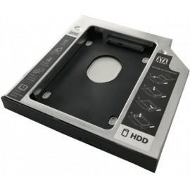 3GO HDDCADDY127 acessório para portáteis Caddy notebook HDD SSD