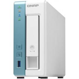 QNAP TS-131K servidor NAS e de armazenamento Ethernet LAN Tower Branco