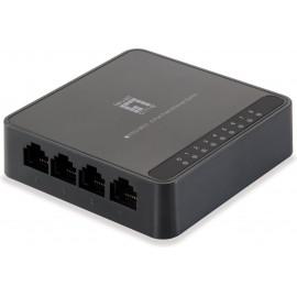 LevelOne FEU-0812 comutador de rede Fast Ethernet (10 100) Preto