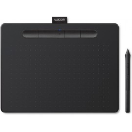 Wacom Intuos S mesa digitalizadora 2540 lpi 152 x 95 mm USB Bluetooth Preto