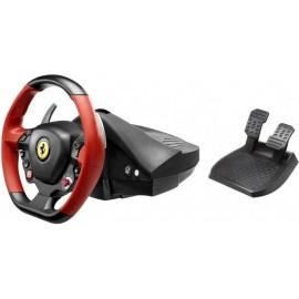 Thrustmaster Ferrari 458 Spider Volante + Pedais Xbox One Preto, Vermelho