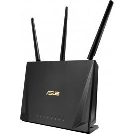 ASUS RT-AC85P router sem fios Dual-band (2,4 GHz   5 GHz) Gigabit Ethernet Preto