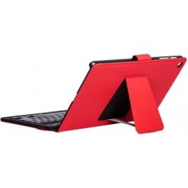SilverHT 111944640199 teclado para dispositivos móveis QWERTY Inglês Internacional Vermelho Bluetooth
