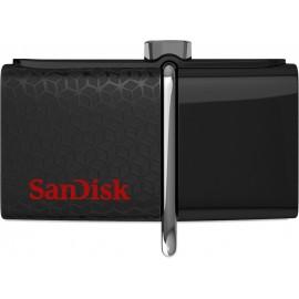 Sandisk Ultra Dual USB 256 GB unidade de memória USB USB Type-A   Micro-USB 3.2 Gen 1 (3.1 Gen 1) Preto