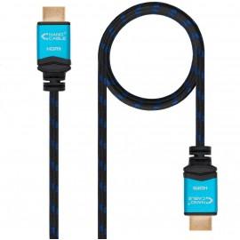 Nanocable 10.15.3701-L150 cabo HDMI 1,5 m HDMI Type A (Standard) Preto