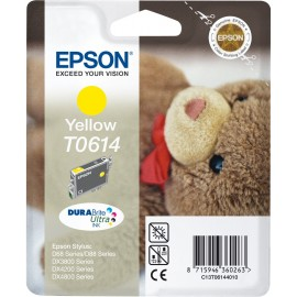 Epson Teddybear Tinteiro Amarelo T0614 Tinta DURABrite Ultra