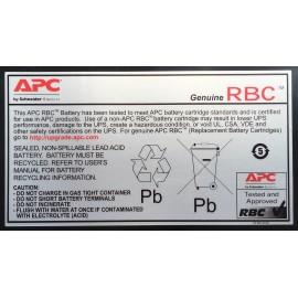 APC APCRBC110 Chumbo-ácido selado (VRLA)