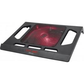 """Trust GXT 220 base de refrigeração para computador 43,9 cm (17.3"""") Preto"""