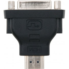Nanocable 10.15.0701 cabo de interface adaptador de género HDMI DVI (24 + 1) Preto