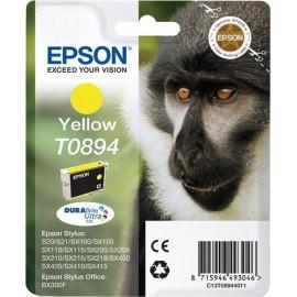 Epson Monkey Tinteiro Amarelo T0894 Tinta DURABrite Ultra