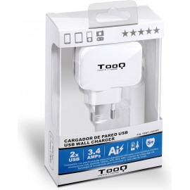 TooQ TQWC-1S02WT carregador de dispositivos móveis interior Branco