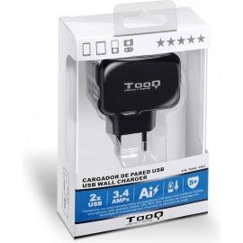 TooQ TQWC-1S02 carregador de dispositivos móveis interior Preto